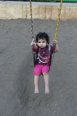 and than she fell of the swing but did not cry by firoze shakir photographerno1