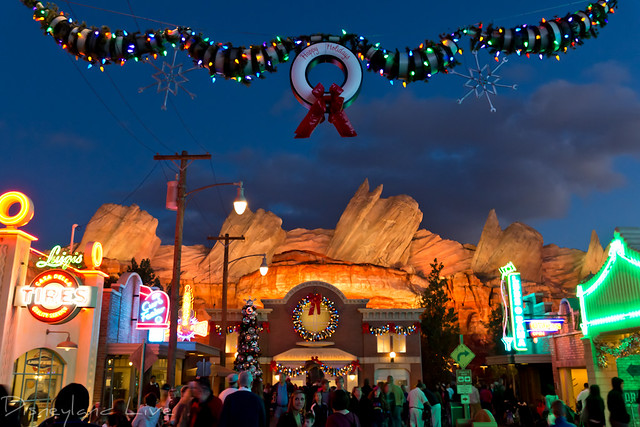 Cars Land Holidays 2012
