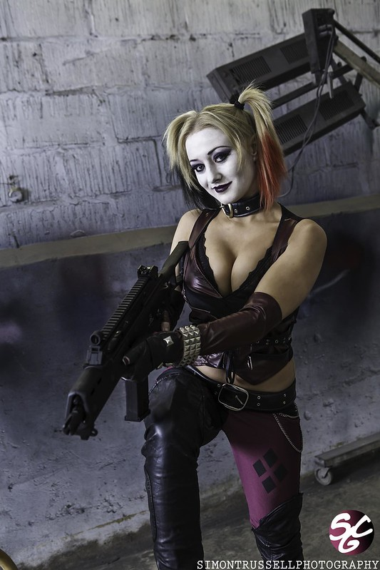 Rebecca Greening as Harley Quinn