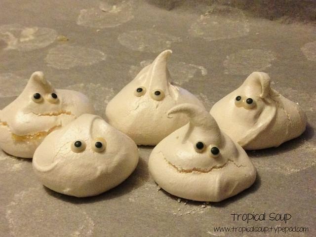 meringue ghosties