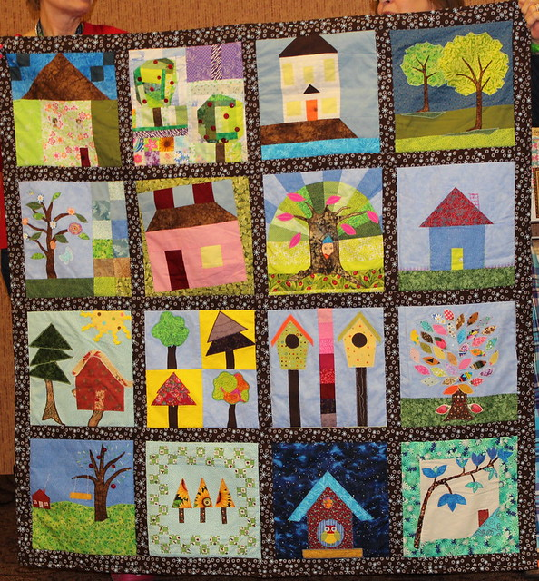 Joyce's Home Sweet Home Quilt