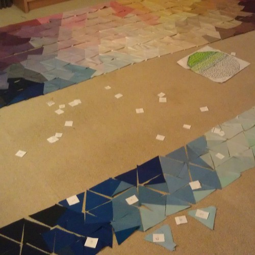 Eternity quilt: Saturday night