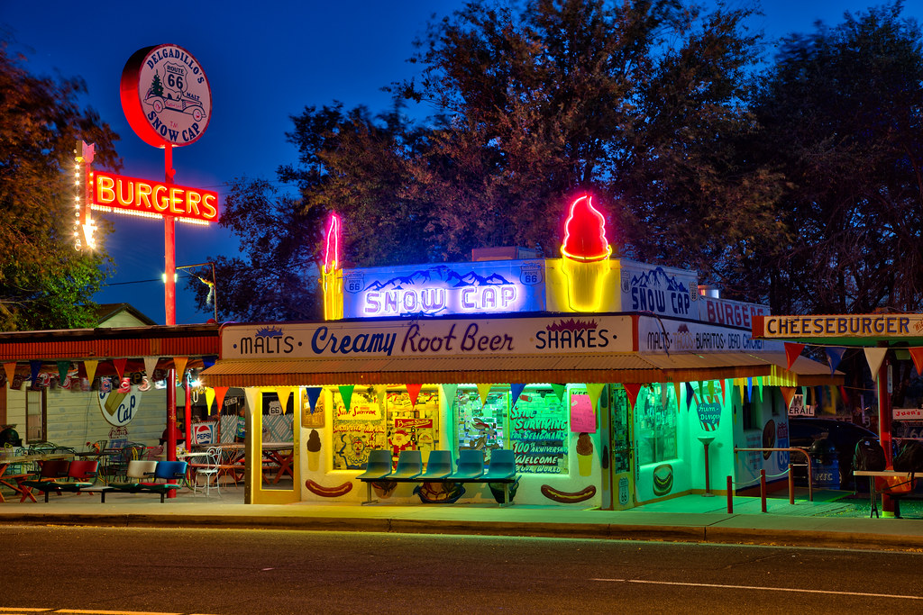 Finally, caught this place at the blue hour and with the neon lit!