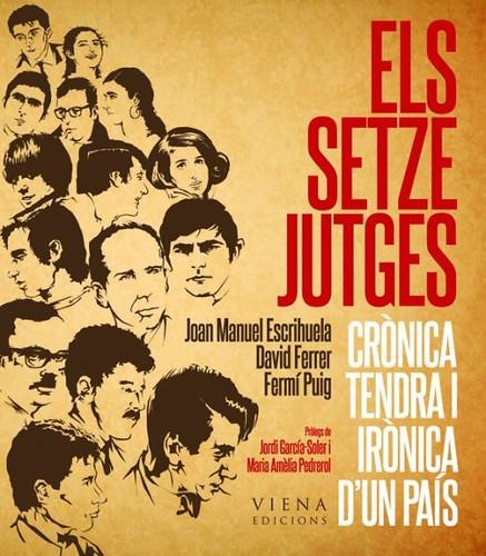"""Portada de """"Els setze jutges, crònica tendra i irònica d'un país"""""""