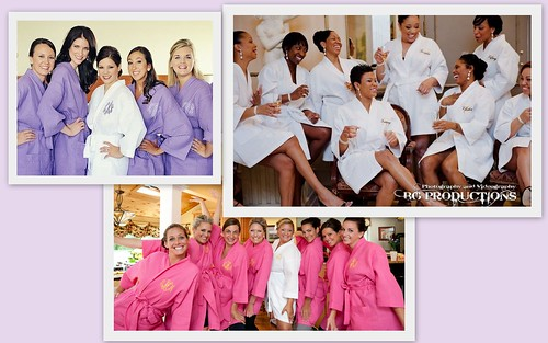 Great Bridesmaid's Gift: Personalized Robes by Nina Renee Designs