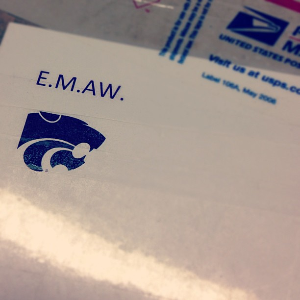 You know you're going to love the surprise inside when the return address on the box reads #emaw