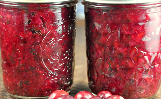 Can It Up: Fresh and Dried Cranberry Salsa