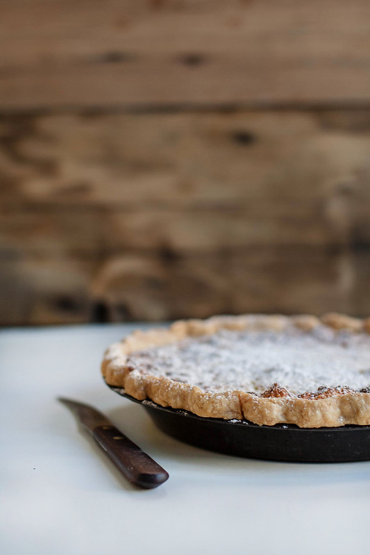 Local Milk | buttermilk pie in a cornmeal & lard crust