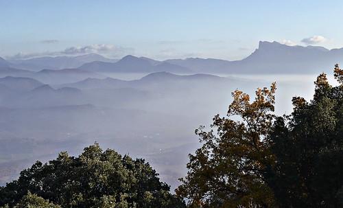 montagne automne gimp paysage commune brume colline effet drôme rhônealpes gigorsetlozeron massifdesaoû