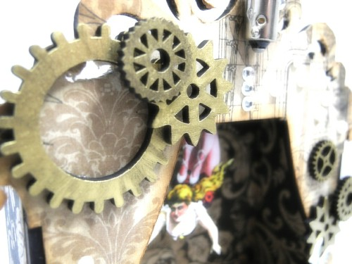 Steampunk Shrine Gear Detail