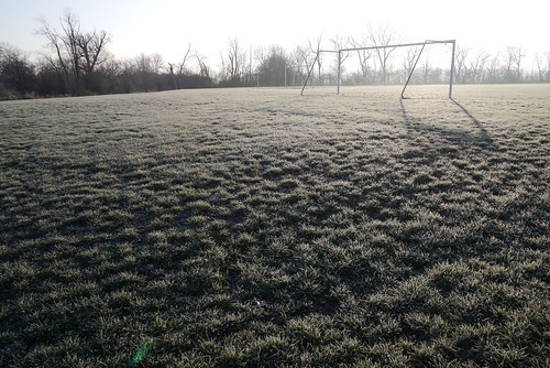 A frosty soccer morning (GX1, 3/4)