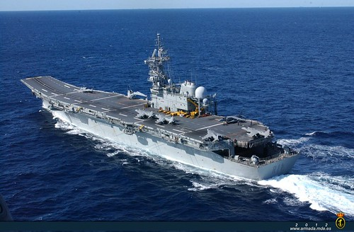 El portaaviones Príncipe de Asturias. Foto Defensa