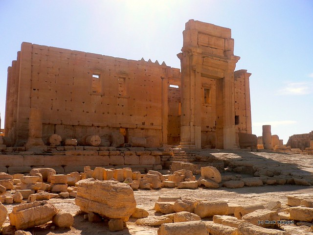 The Temple of Baal at Palmyra, Syria