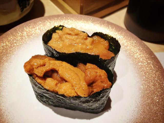 Uni Gunkan Maki Sushi, Ryoshi Sushi Ikeikemaru