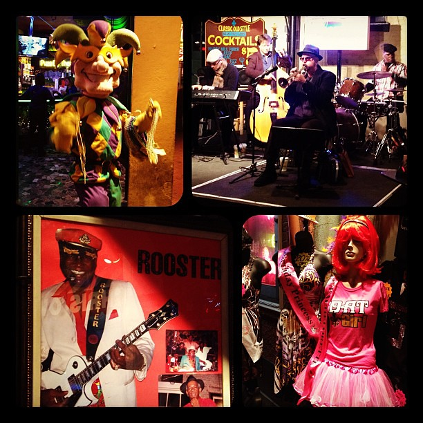 Bourbon Street: Bachelorette parties, live jazz & beads!