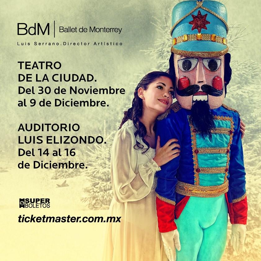 El Cascanueces del Ballet de Monterrey