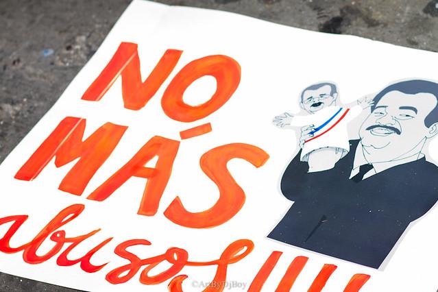 No Ala Reforma Protest - NYC