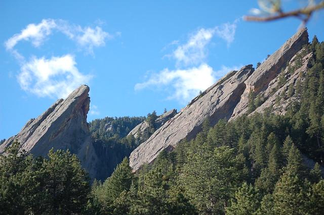 Flatirons - Hiking at Royal Arch, Boulder, CO