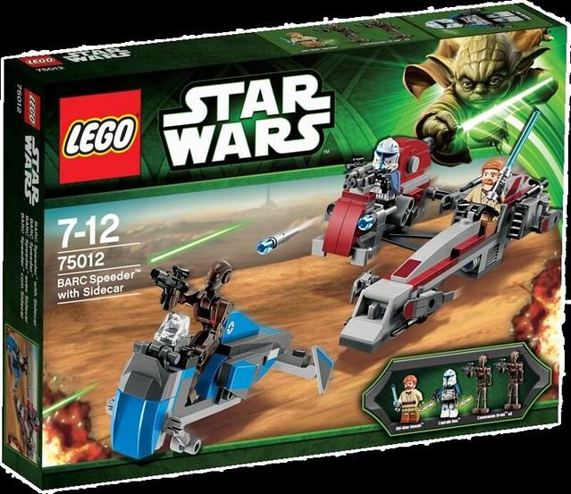 LEGO Star Wars 75012 – BARC Speeder - Box