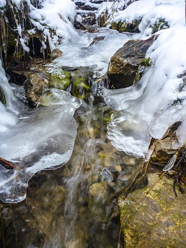 Winter Stream at 2000km