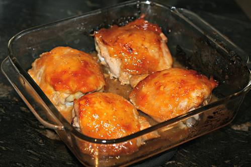 f7804ec2c827 So Tasty So Yummy  Apricot Dijon Glazed Chicken