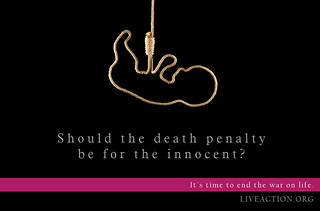 Should the death penalty be for the innocent?