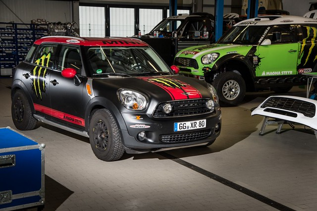 Accesorios originales off-road MINI Countryman