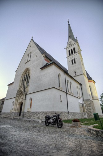 Church of St. Martin & Bike
