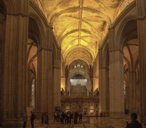 sevilla seville cathédrale espagne andalousie