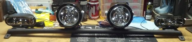 Xoskel Lo Pro Lightbar And Sirius Xm Antenna Clearnance
