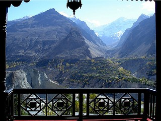 Hotel Hunza Embassy-View From Terrace