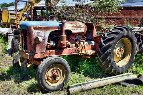 This tractor has not been used for a while, but is...