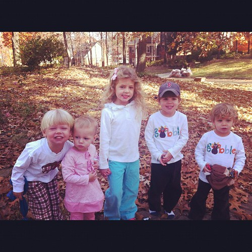 Precious cousins. Thankful for family.