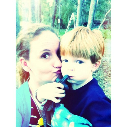 """Let's make silly faces, Aunt Melly!"" Ok, Noah! Let's make silly faces! {so thankful for my nephew. @thesenorms}"