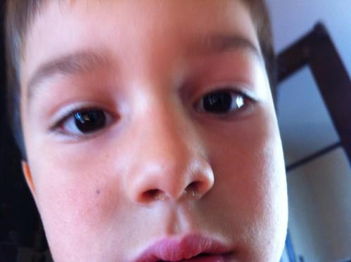 Finn's selfie