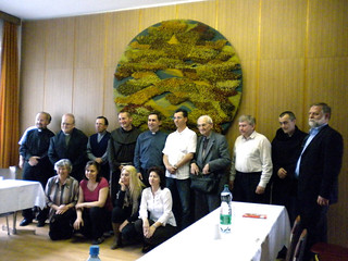 Group picture after the Clergy Meeting