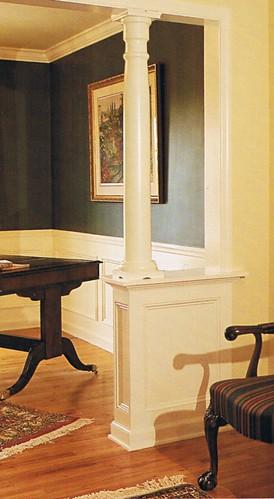 Interior columns 1