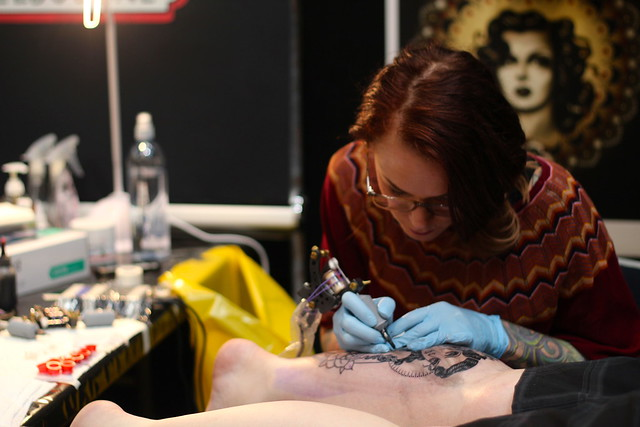 Saturday: Rose Hardy at the Tattoo Festival