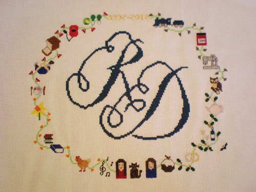 Cross Stitch Finished