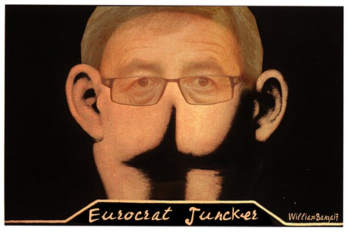 EUROCRAT JUNCKER by Colonel Flick