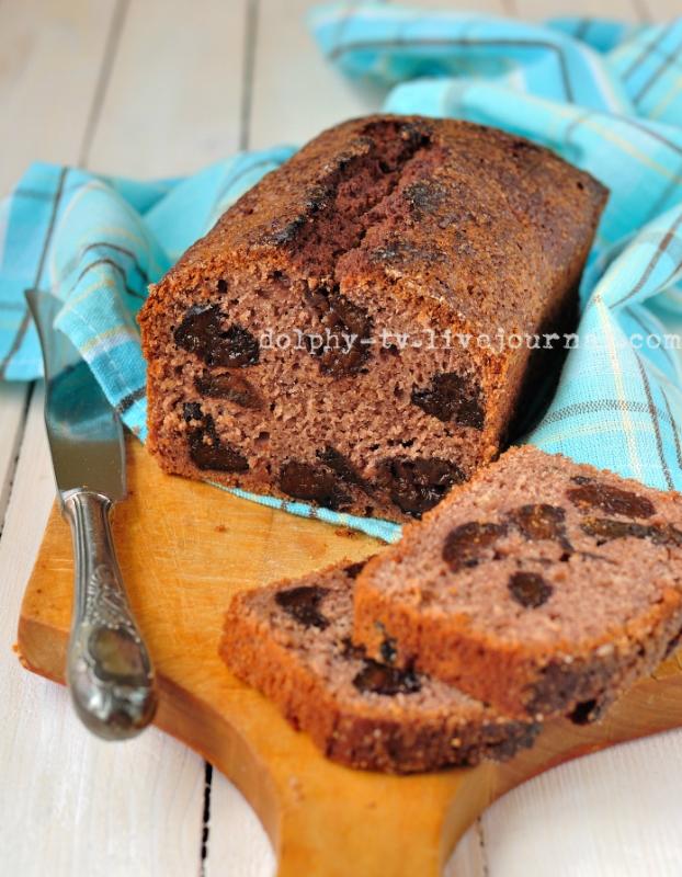 Prune and Port Bread / Кекс с черносливом и портвейном