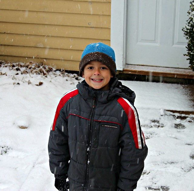 Jacob -- first snow