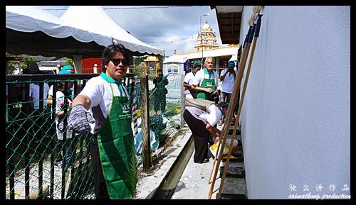 VIP Datuk Medan Painting the Wall : Sentuhan Kasih Deepavali with Petronas @ Kampung Wellington