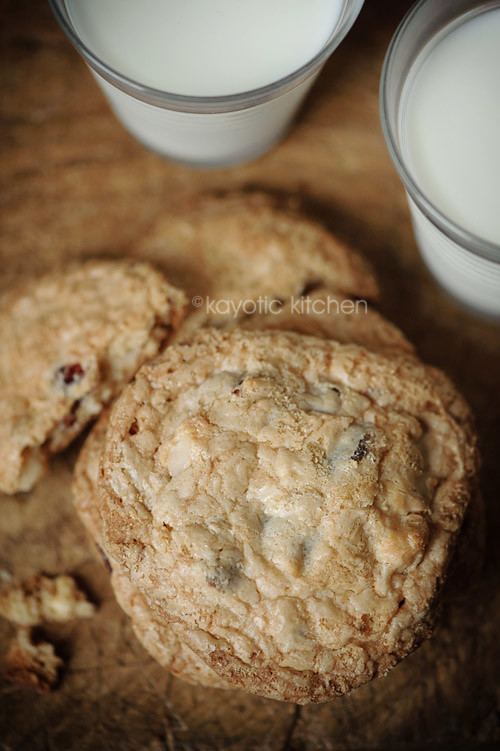Cranberry, Chocolate & Macadamia Cookies