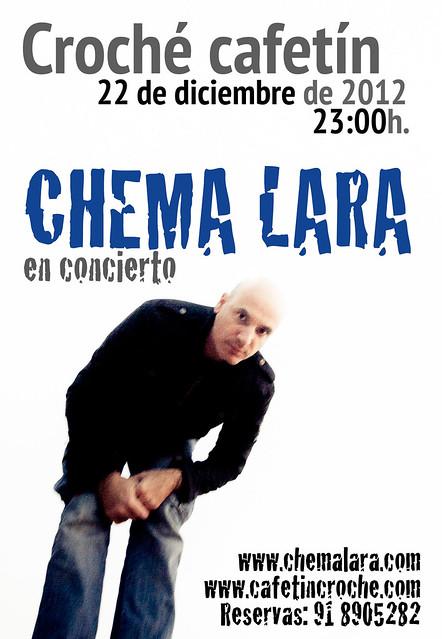 Chema Lara en Croché el 22 de diciembre de 2012