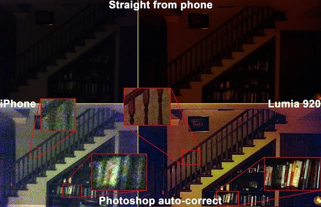Nokia Lumia 920-iPhone 5 Compare