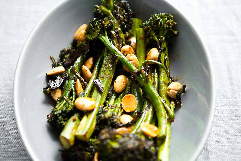 ROAST BROCCOLINI WITH SMOKED PAPRIKA VINAIGRETTE // SIMPLE THINGS // A ...