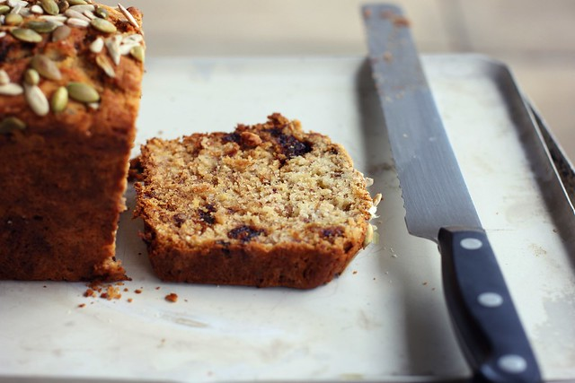 Lemony Olive Oil Banana Bread Recipe — Dishmaps