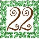 22 zweiundzwanzig
