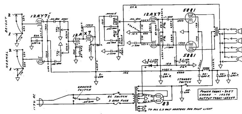 Fender Super Reverb Speaker Wiring Harness 1967 Fender Super – Leslie Speaker Wiring Diagram